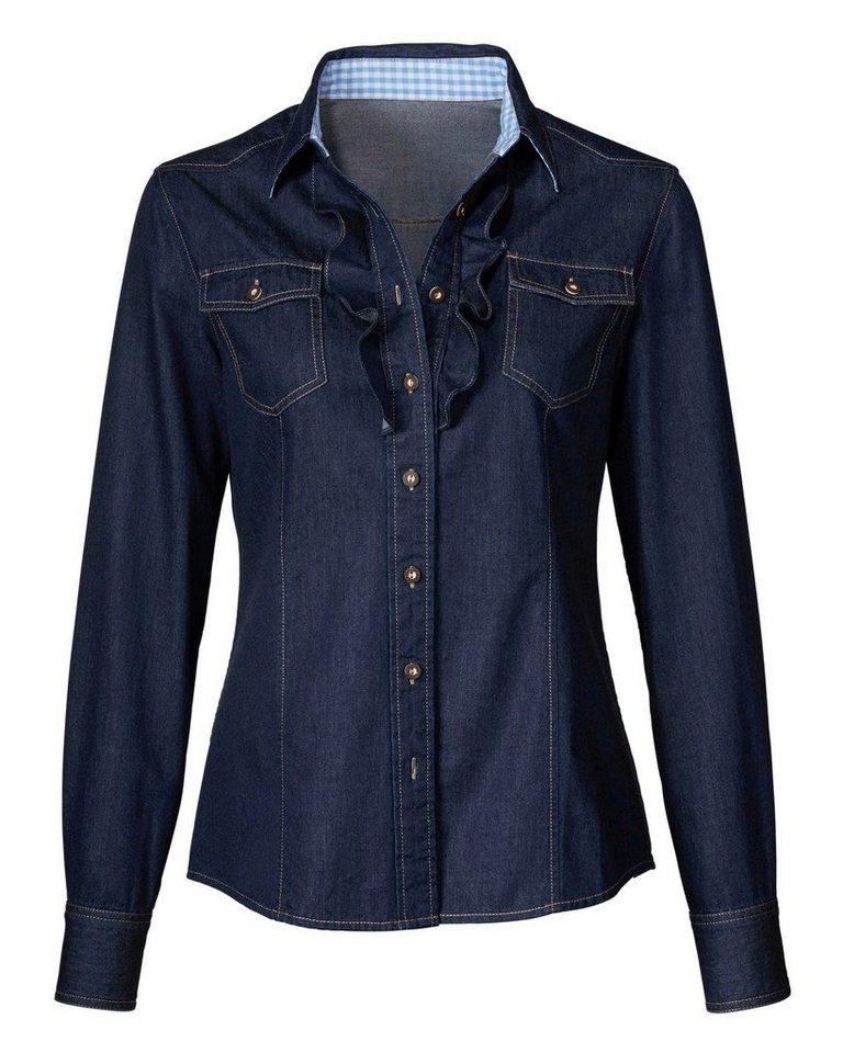 Reitmayer Jeansbluse in Blau