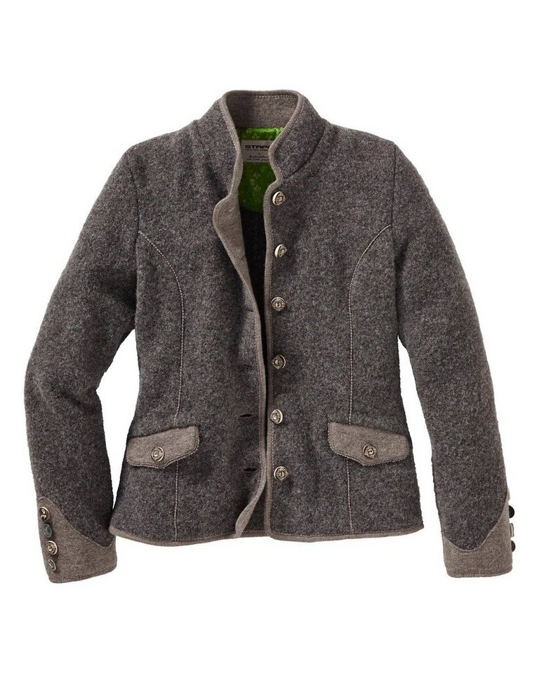 Stapf Walkjacke in Taupe
