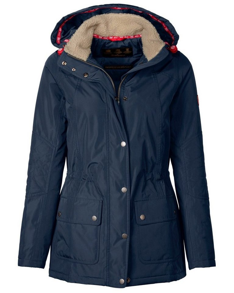 Barbour Parka Aspley Jacket in Marine