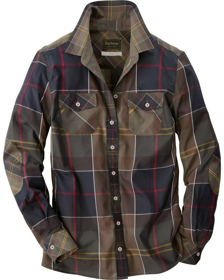 Barbour Bluse Cindall in Classic Tartan