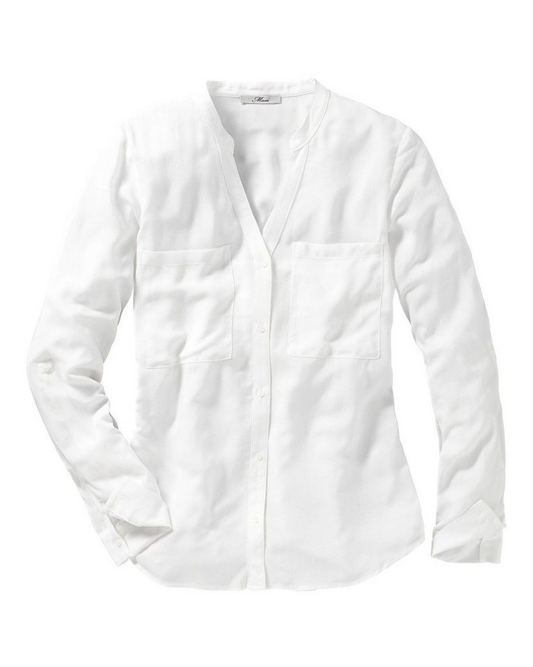 Mavi Uptown Bluse in Weiß