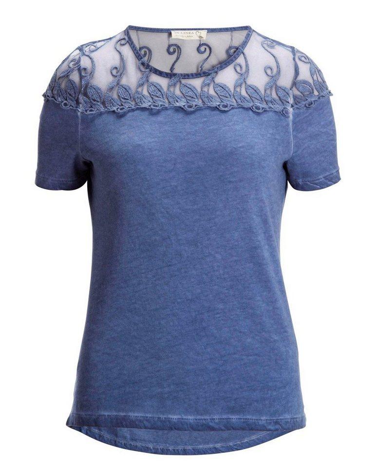 IN LINEA T-Shirt in Blau