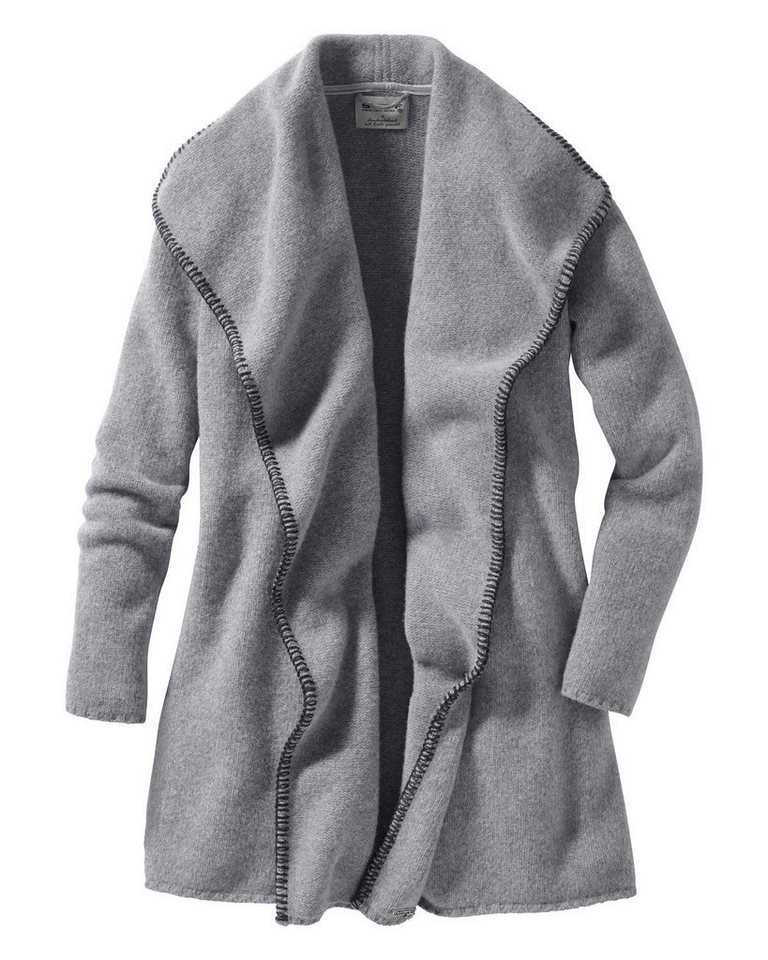 Stapf Strickjacke in Grau