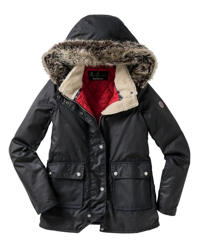 Barbour Wachsjacke Crevasse in Navy