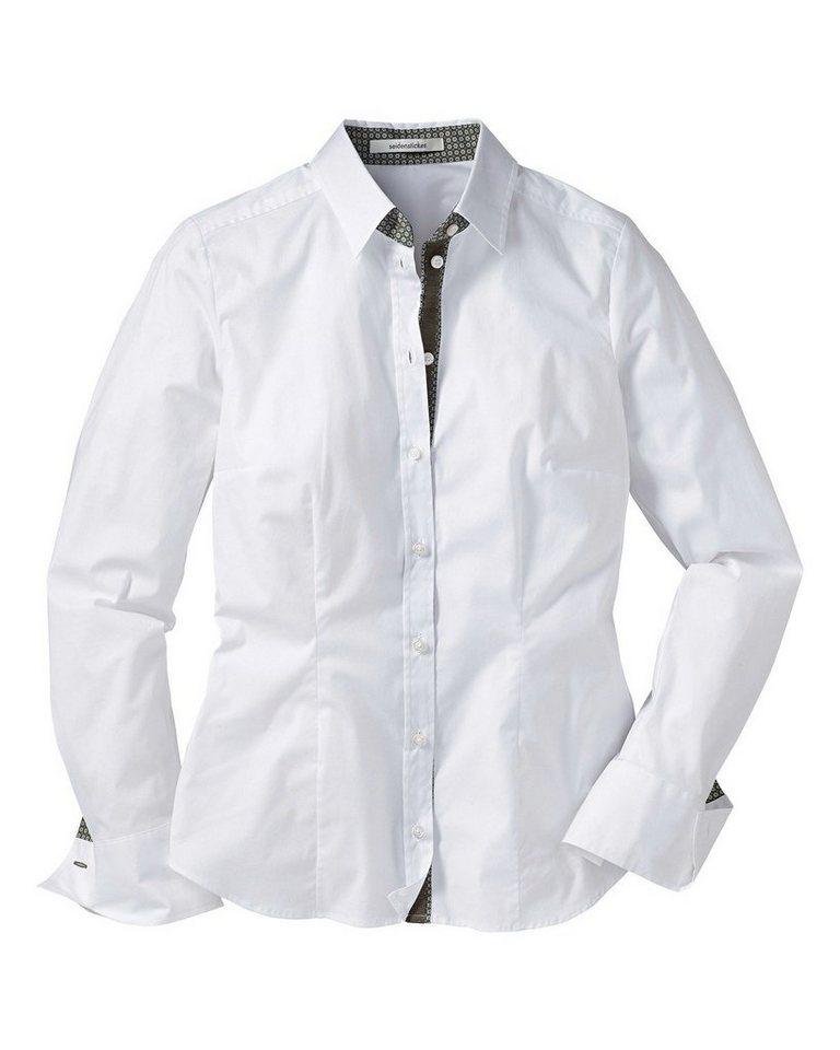 Seidensticker Bluse in Weiß