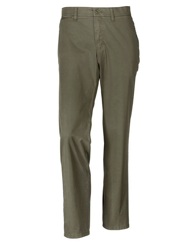 Club of Comfort Flatfront-Hose Carno in Oliv