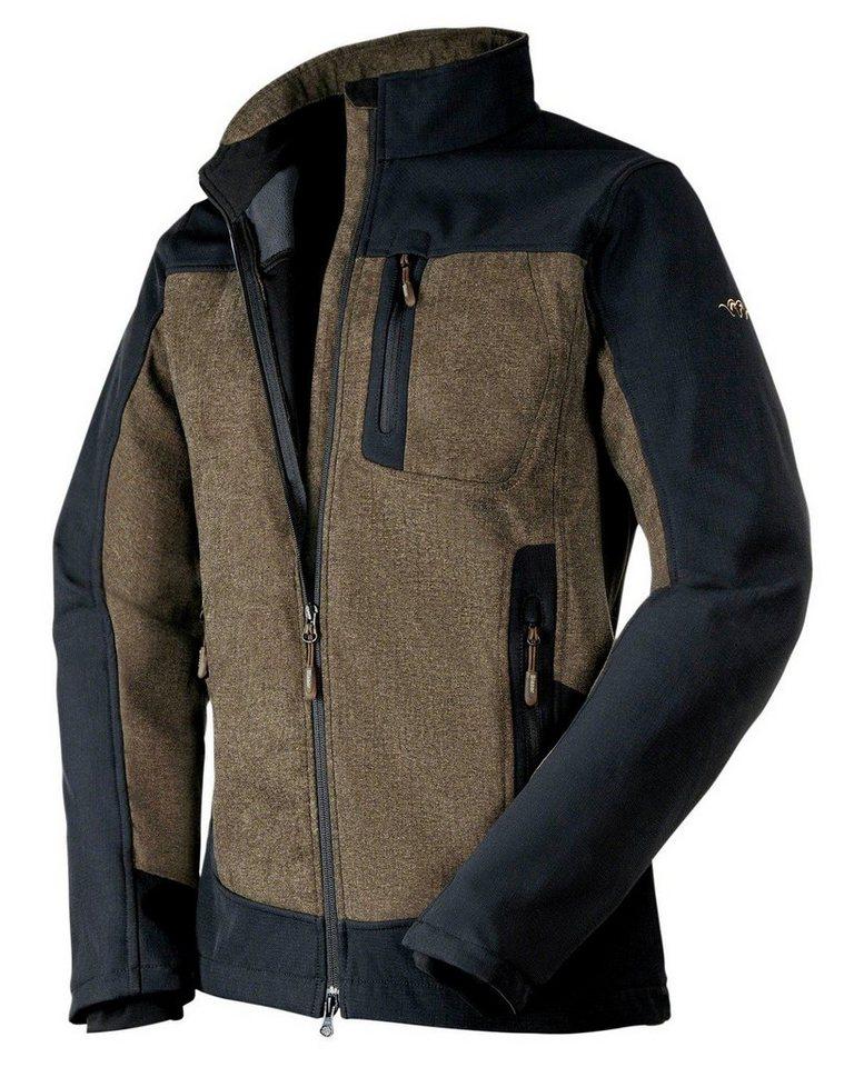 Blaser Active Outfits Jacke Active Vintage in Melange/Schwarz