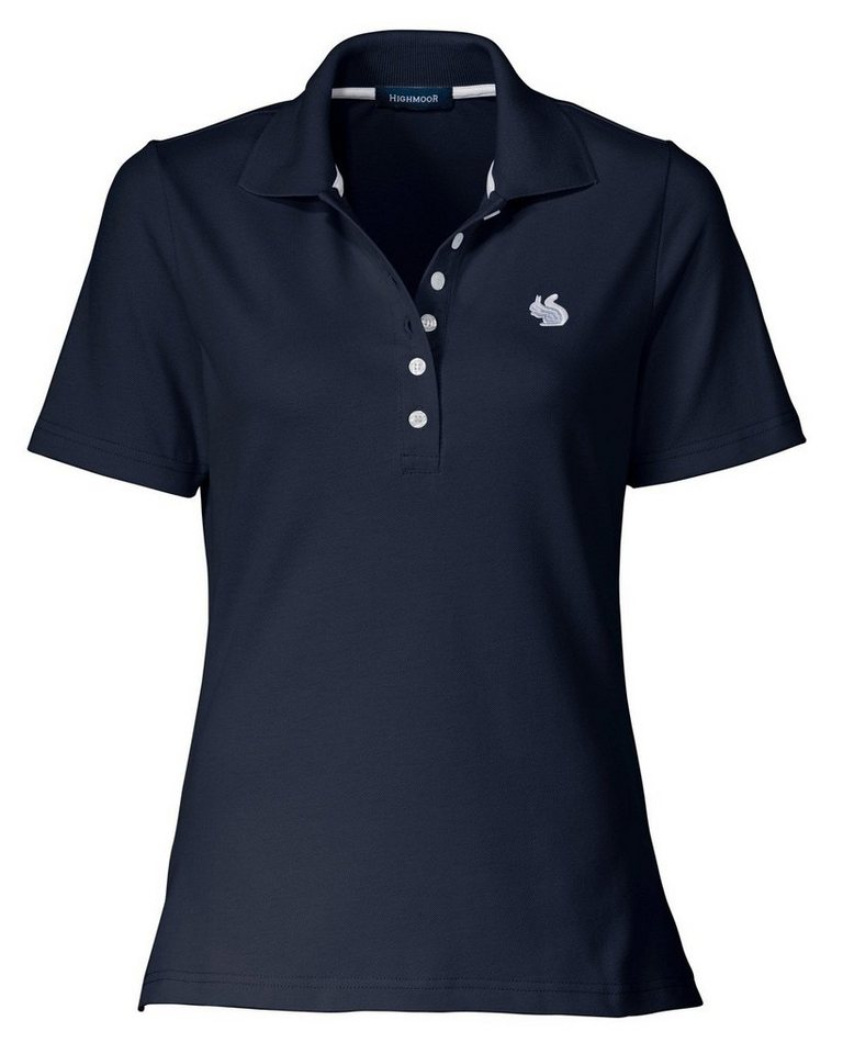 Highmoor Poloshirt in Marine