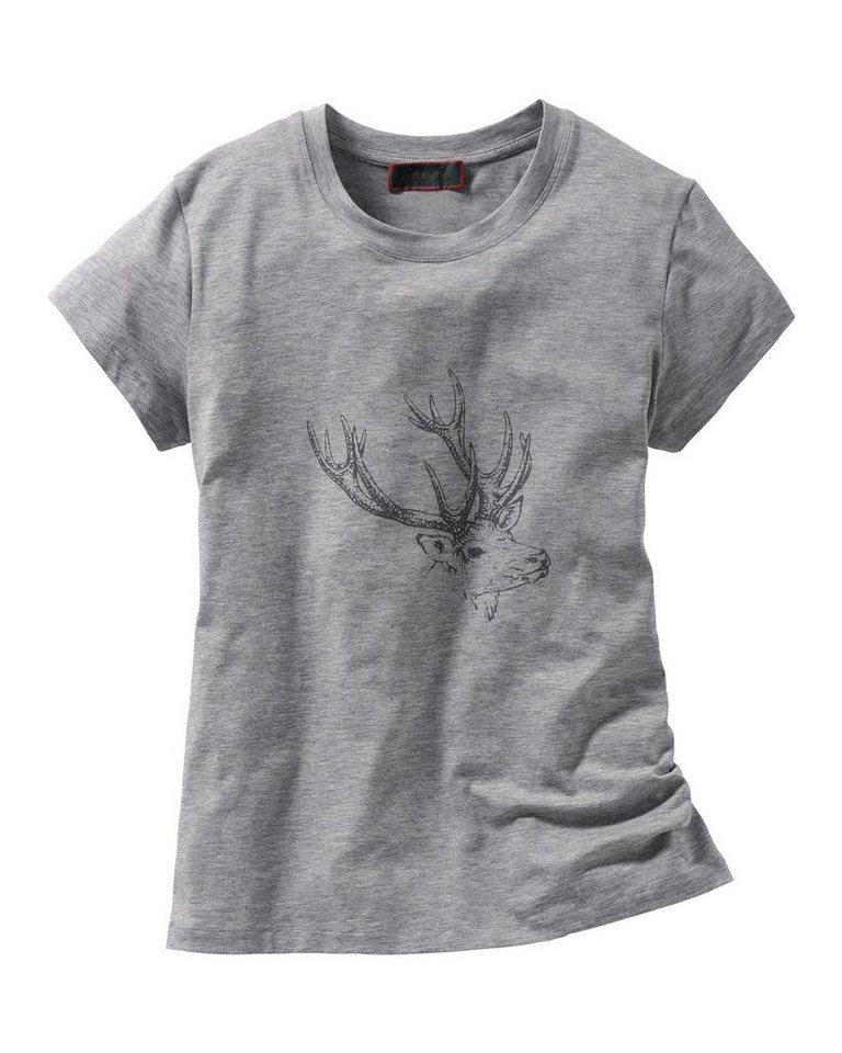 Reitmayer T-Shirt in Grau-Meliert