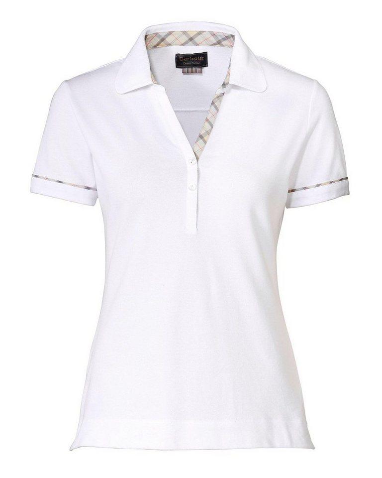 Barbour Poloshirt Alasdiar in Weiß