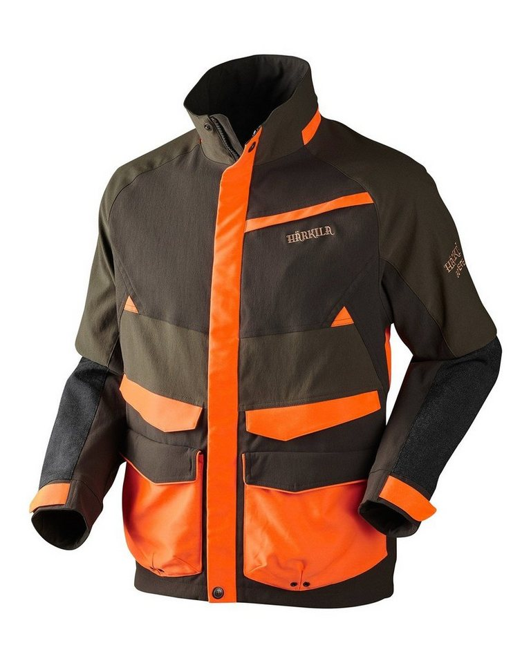 Härkila Pro Hunter Wild Boar Jacke in Grün/Braun/Orange