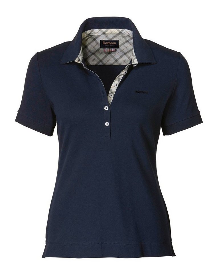 Barbour Poloshirt Golding in Navy