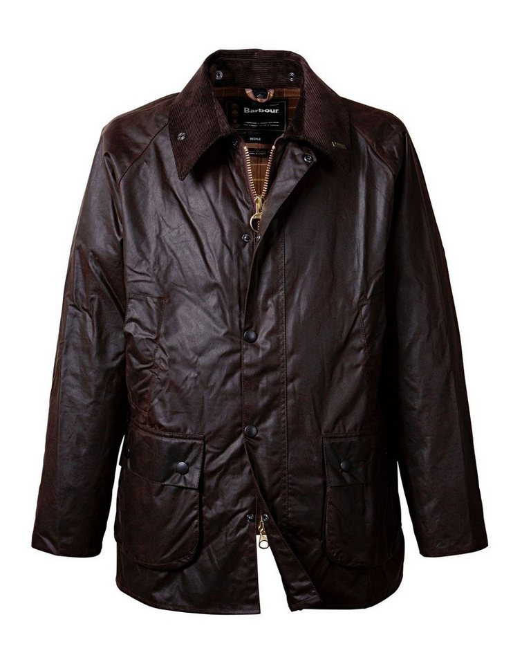Barbour Wachsjacke Bedale in Braun