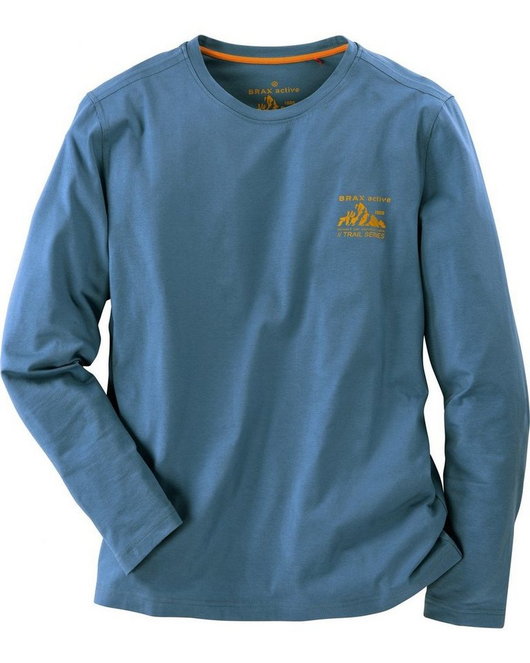 Brax Active Shirt Sky in Blau