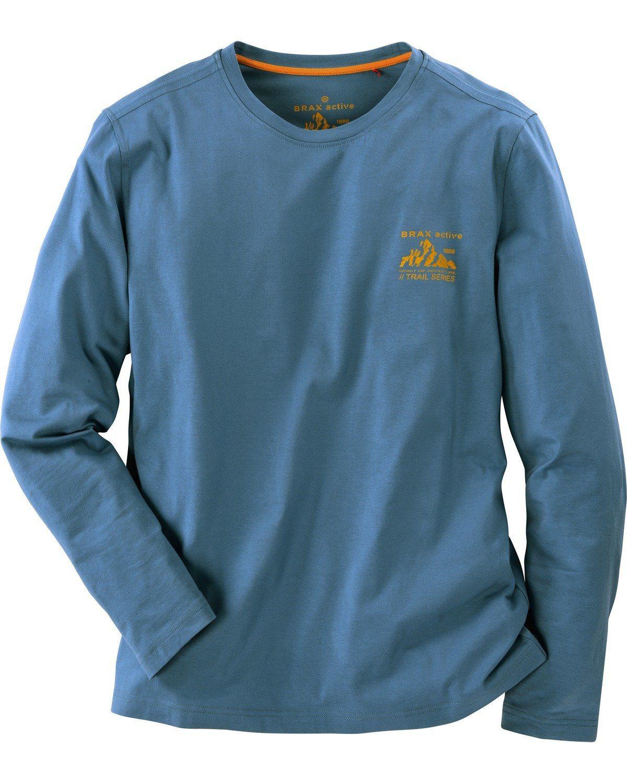 Brax Active Shirt Sky