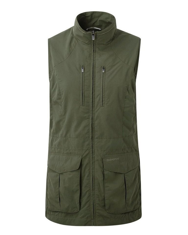 Craghoppers Weste Nosilife Jiminez in Parka Green