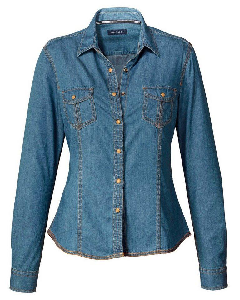 Highmoor Jeansbluse in Blau