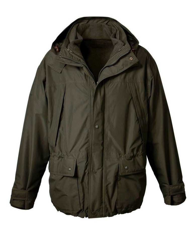 Parforce Jacke mit Fleece-Innenjacke in Oliv