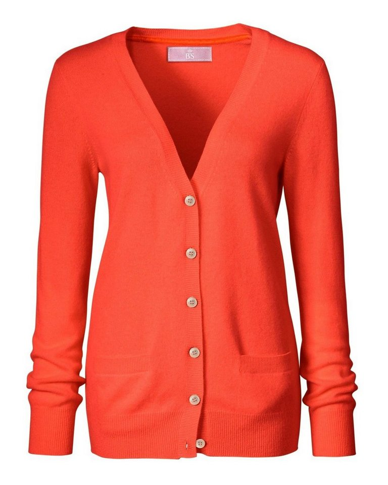 Brigitte von Schönfels Cashmere Cardigan in Orange