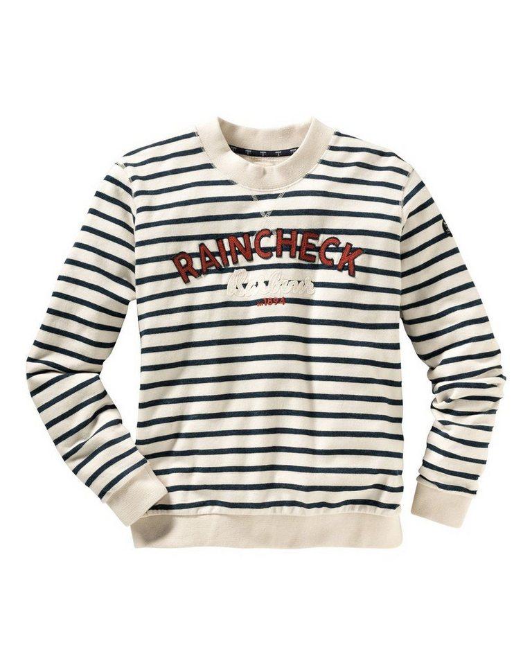 Barbour Sweatshirt Epler in Marine