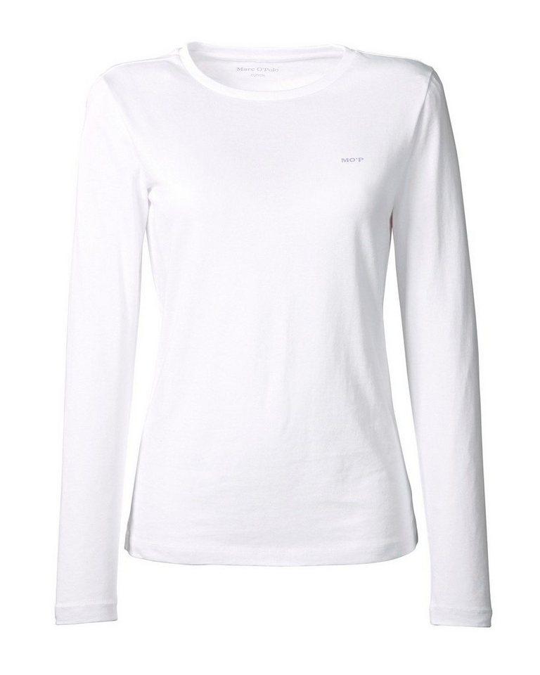 Marc O'Polo Langarmshirt in Weiß