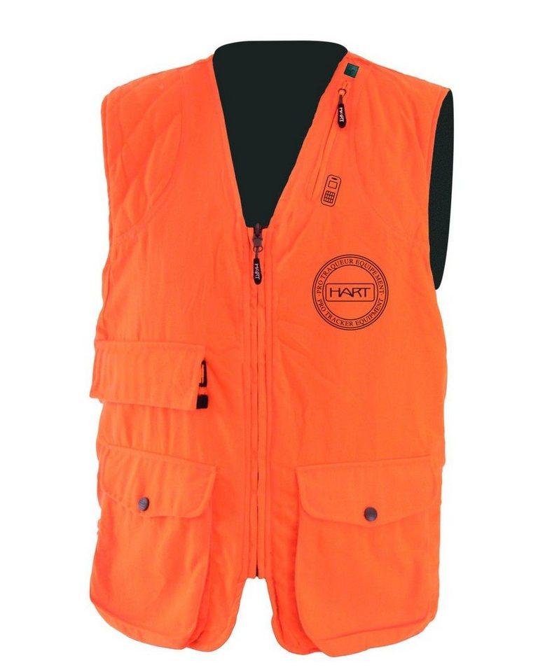 Hart Sicherheitsweste Basurde-V in Orange