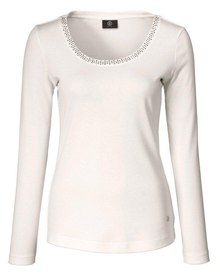 Bogner Langarm-Shirt Celina in Ecru
