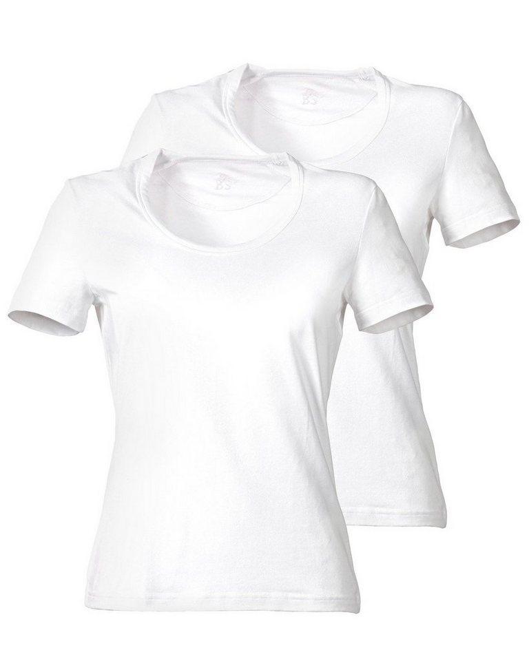 Brigitte von Schönfels T-Shirt 3er-Pack in Weiß