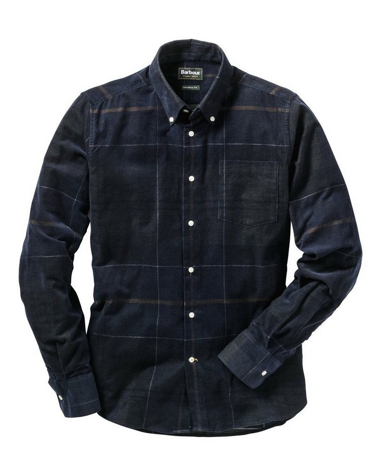 Barbour Cordhemd Nauton in Oliv