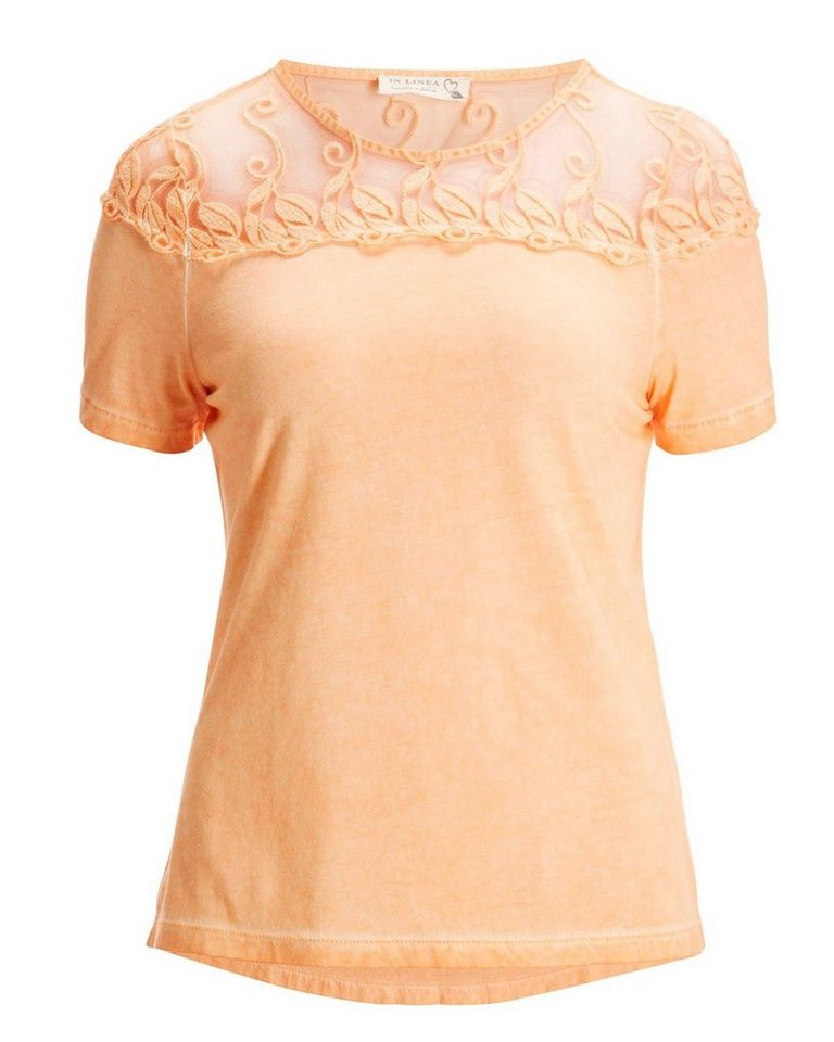 In Linea T-Shirt in Apricot
