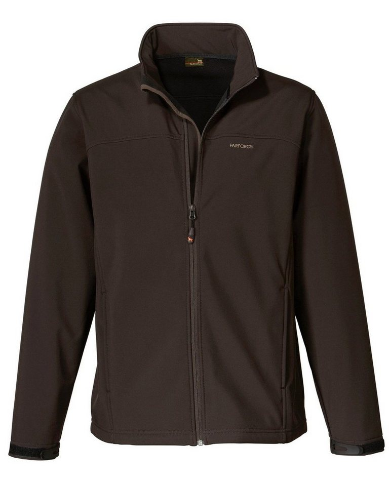 Parforce Softshell Jacke in Braun