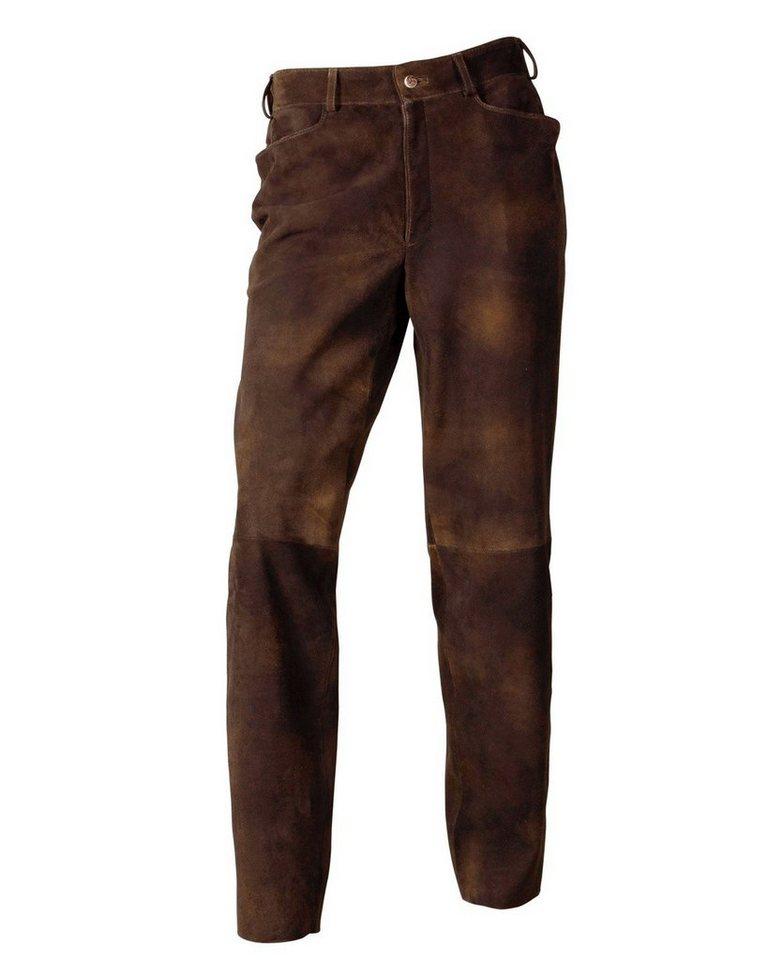 Reitmayer Wildbock-Lederhose in Braun