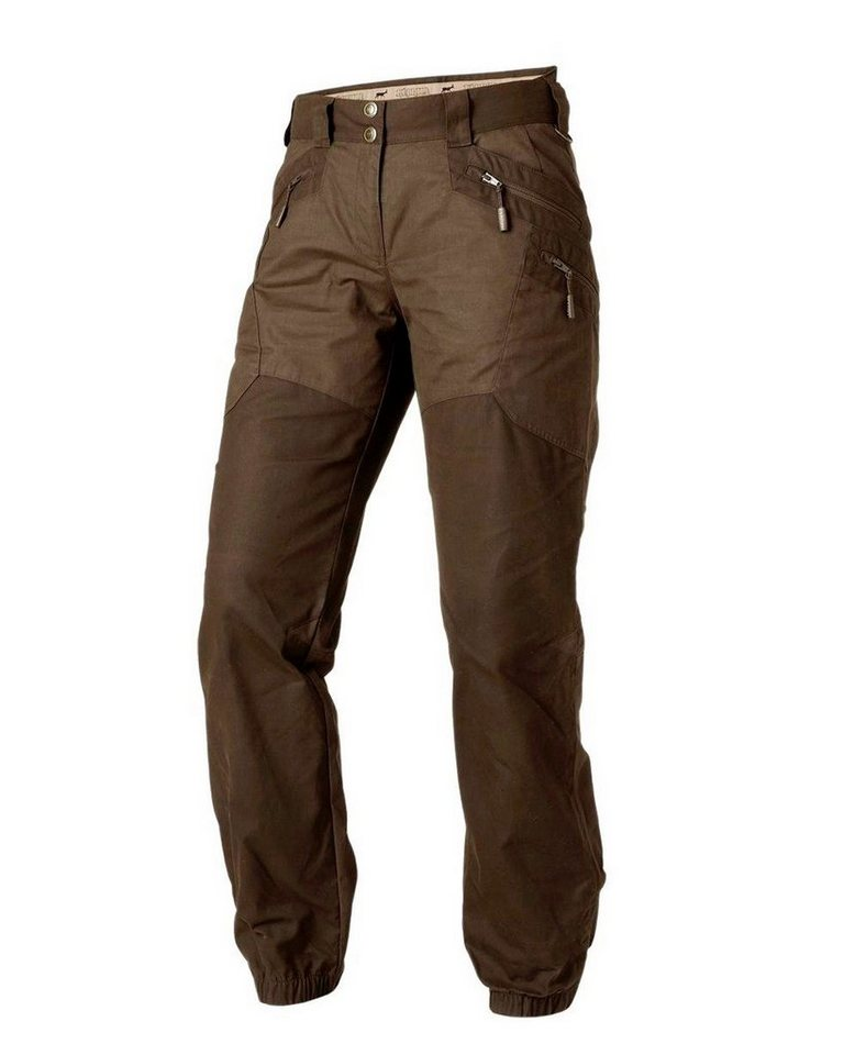 Härkila Damenhose Mountain Trek Lady in Mitteloliv