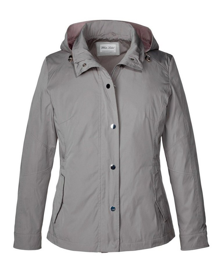 White Label Jacke in Taupe/Rosa