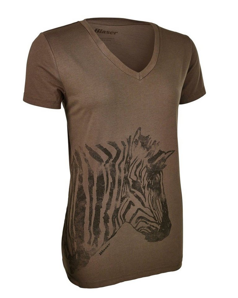 Blaser Active Outfits T-Shirt Zebra in Oliv