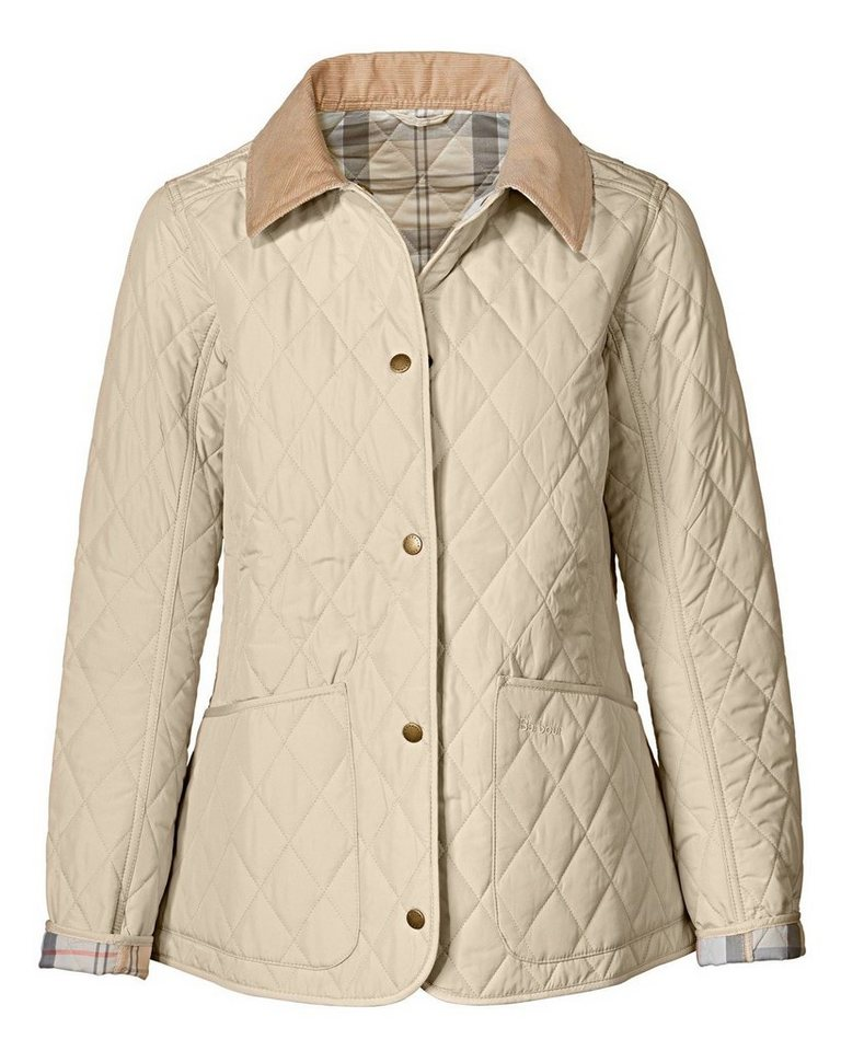 Barbour Steppjacke Spring Annandale in Stein