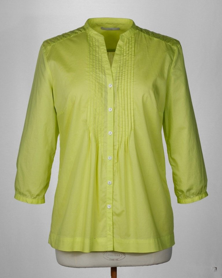 Brax V-Bluse in Gelb