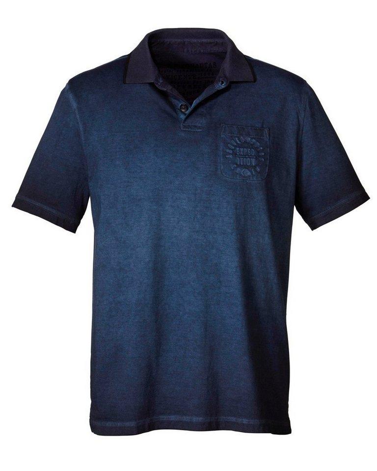 Arqueonautas Poloshirt in Marine