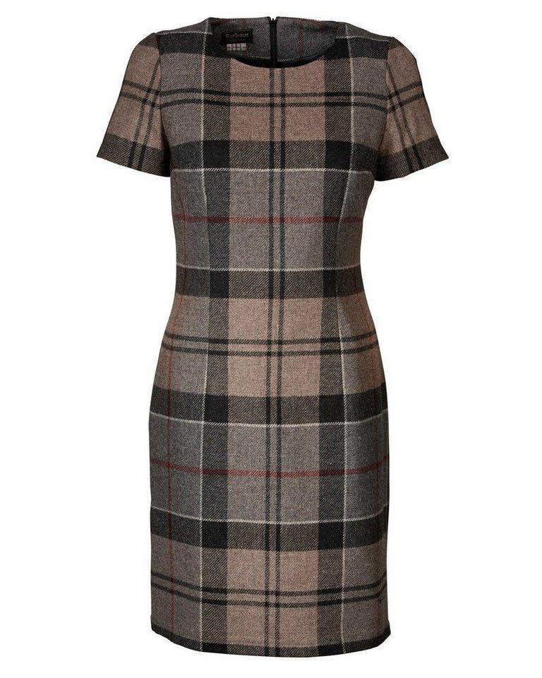 Barbour Karokleid Dee Tartan Dress in Grau