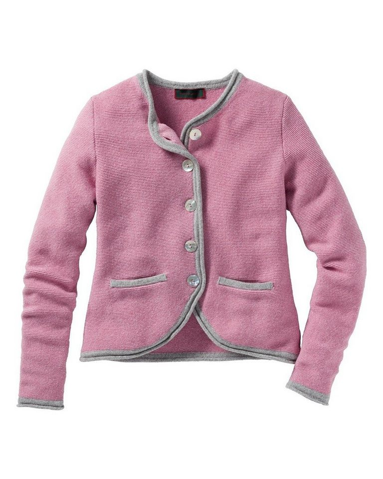 Reitmayer Cardigan in Rosé/Grau