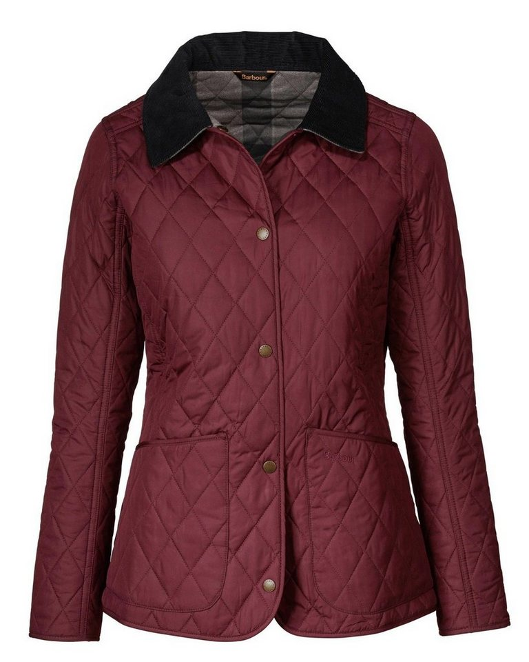 Barbour Steppjacke Montrose in Bordeaux