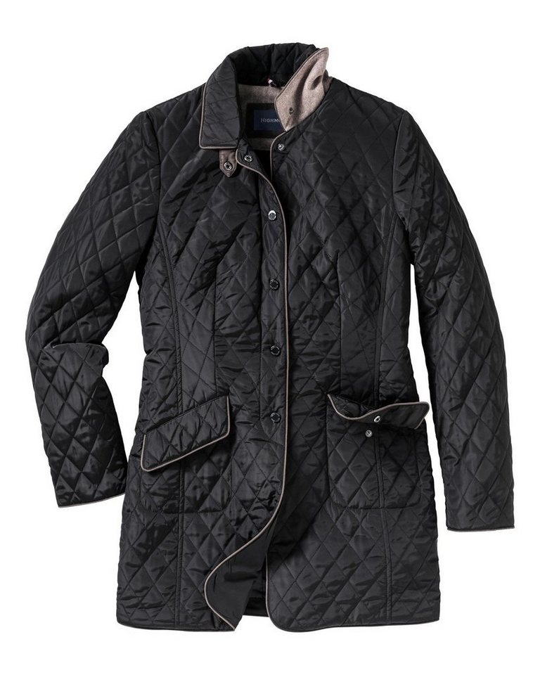 Highmoor Steppjacke in Schwarz