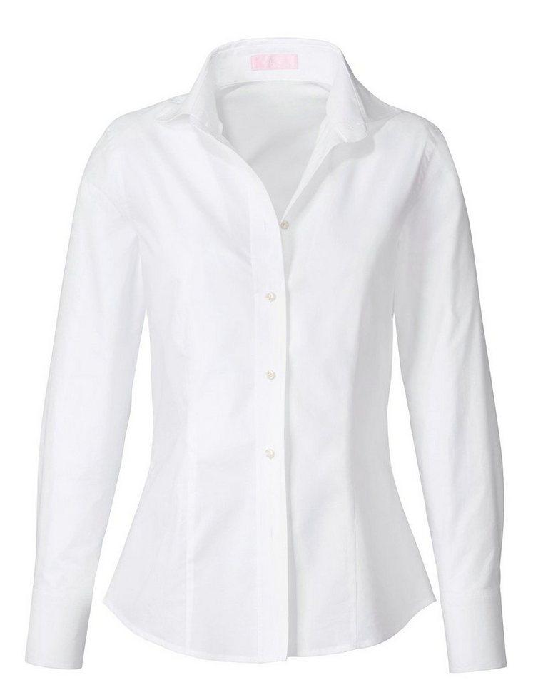 Brigitte von Schönfels Hemdbluse in Weiß