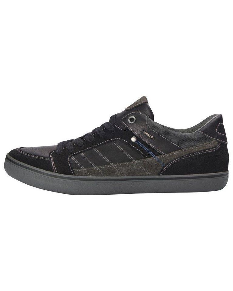 GEOX Sneaker Box in Schwarz/Grau