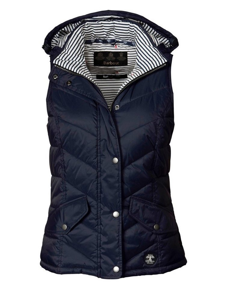 Barbour Steppweste Forland Gilet in Navy