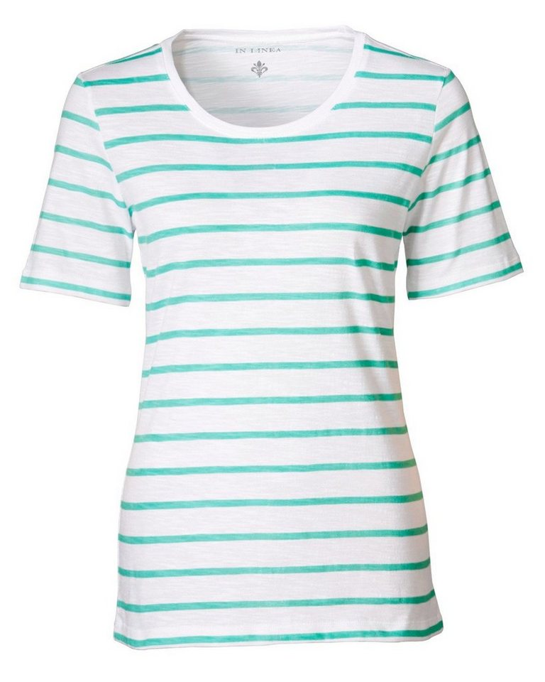 In Linea T-Shirt in Mint