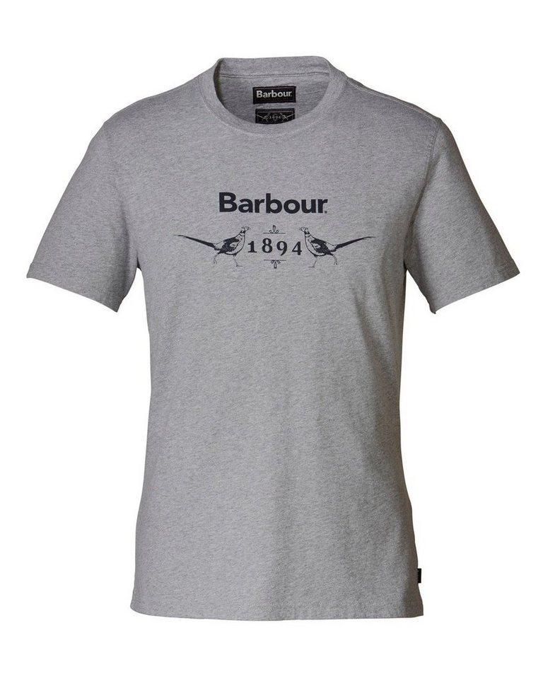 Barbour T-Shirt Morpeth in Grau