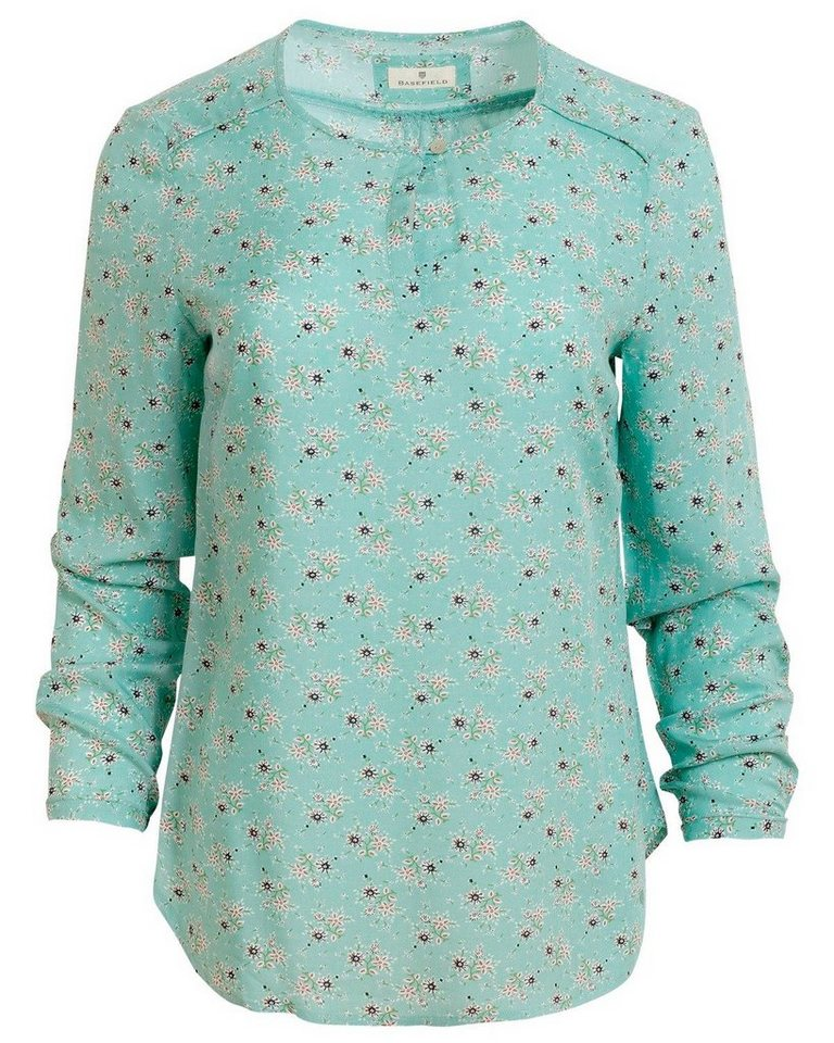 Basefield Bluse in Mint