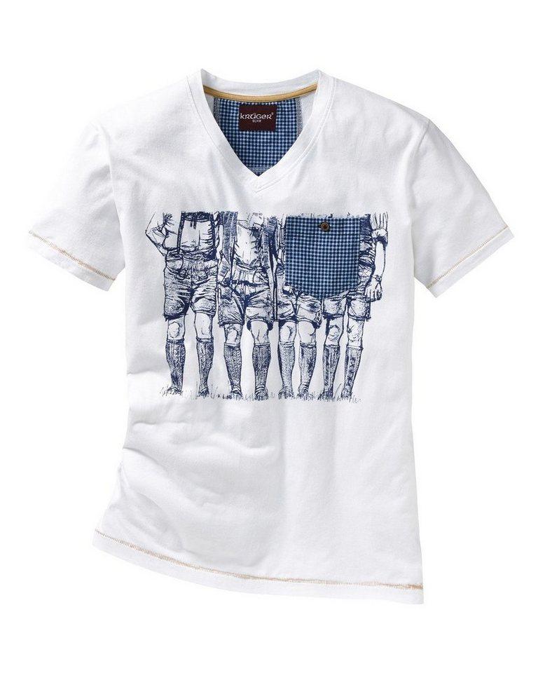 Krüger Buam T-Shirt in Weiß