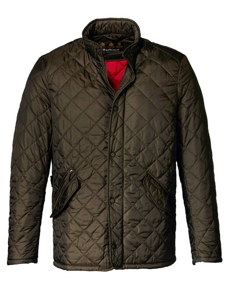 Barbour Steppjacke Flyweight Chelsea in Oliv